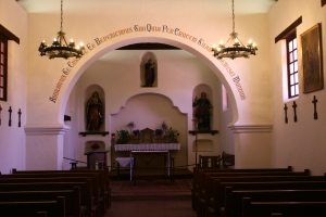Santa Cruz Mission chapel3