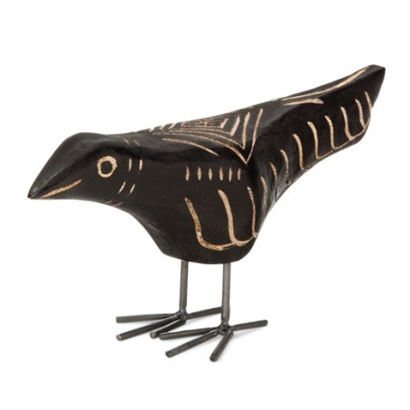 Carved Wood Bird