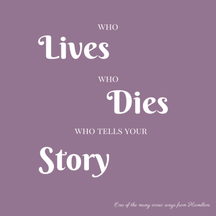whoLiveswhoDieswho tells yourstory